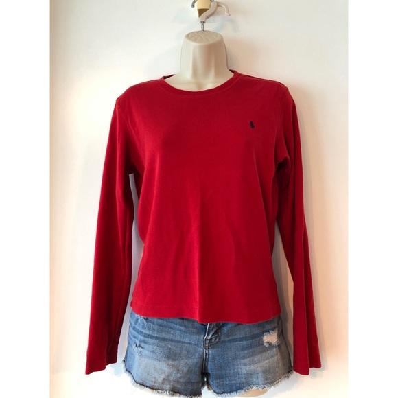 7f85153d Ralph Lauren Tops   Sport Crewneck Long Sleeve Logo Shirt   Poshmark